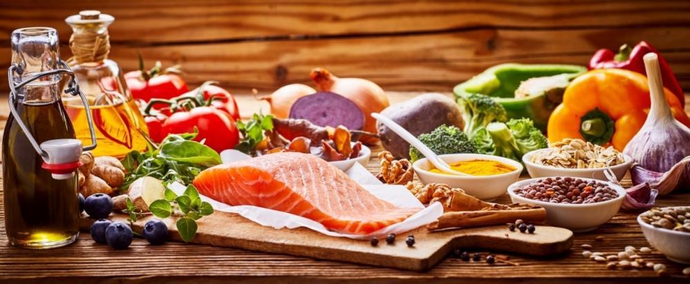 Auswahl gesunder Nahrungsmittel